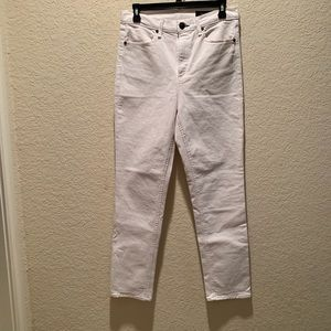 Rag and Bone white jeans, size 29